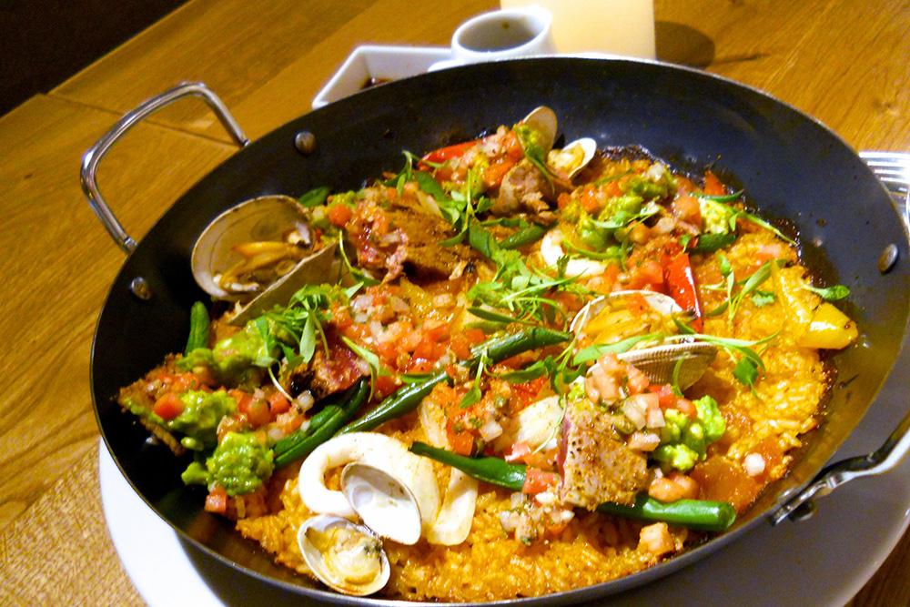 Spicy Ahi Paella_1