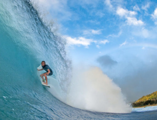 Surf's Up for North Shore Winter Waves